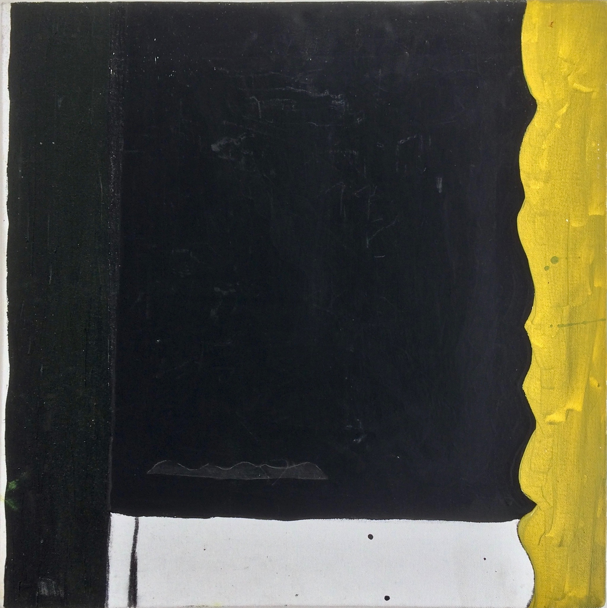Robin Jones yellow right painting